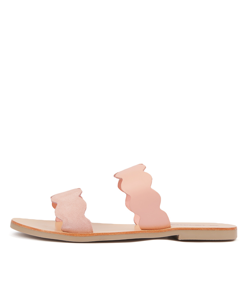 Buy Sol Sana Wave Slide Bubblegum Flat Sandals online with free shipping