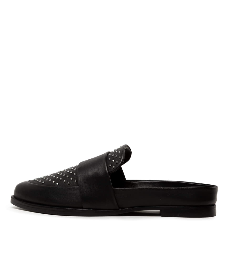 Buy Sol Sana Tuesday Slide Iii Black Flats online with free shipping