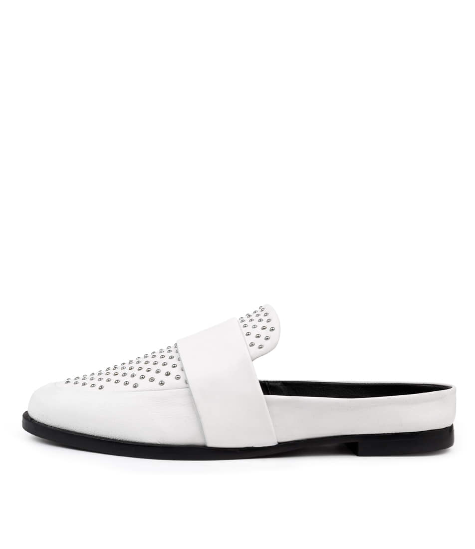 Buy Sol Sana Tuesday Slide Iii White Flats online with free shipping