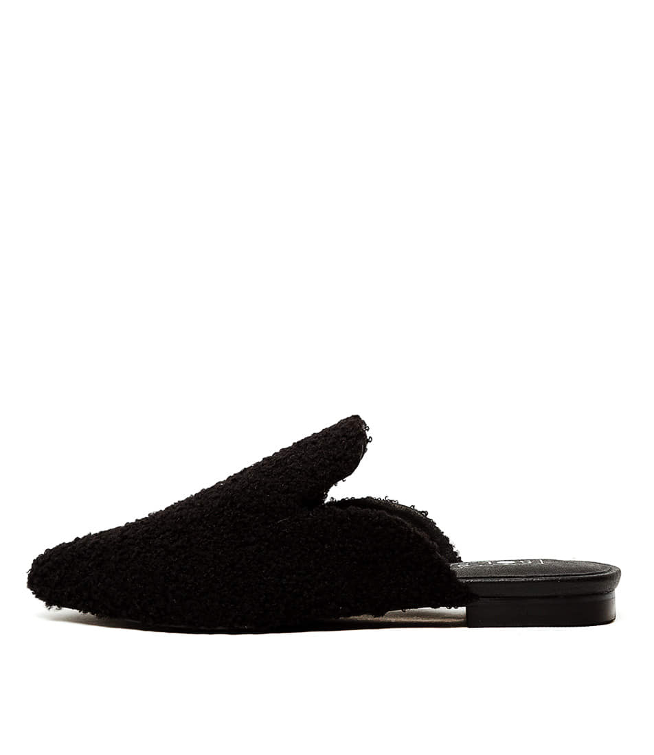 Buy Sol Sana Willow Loafer Black Flats online with free shipping