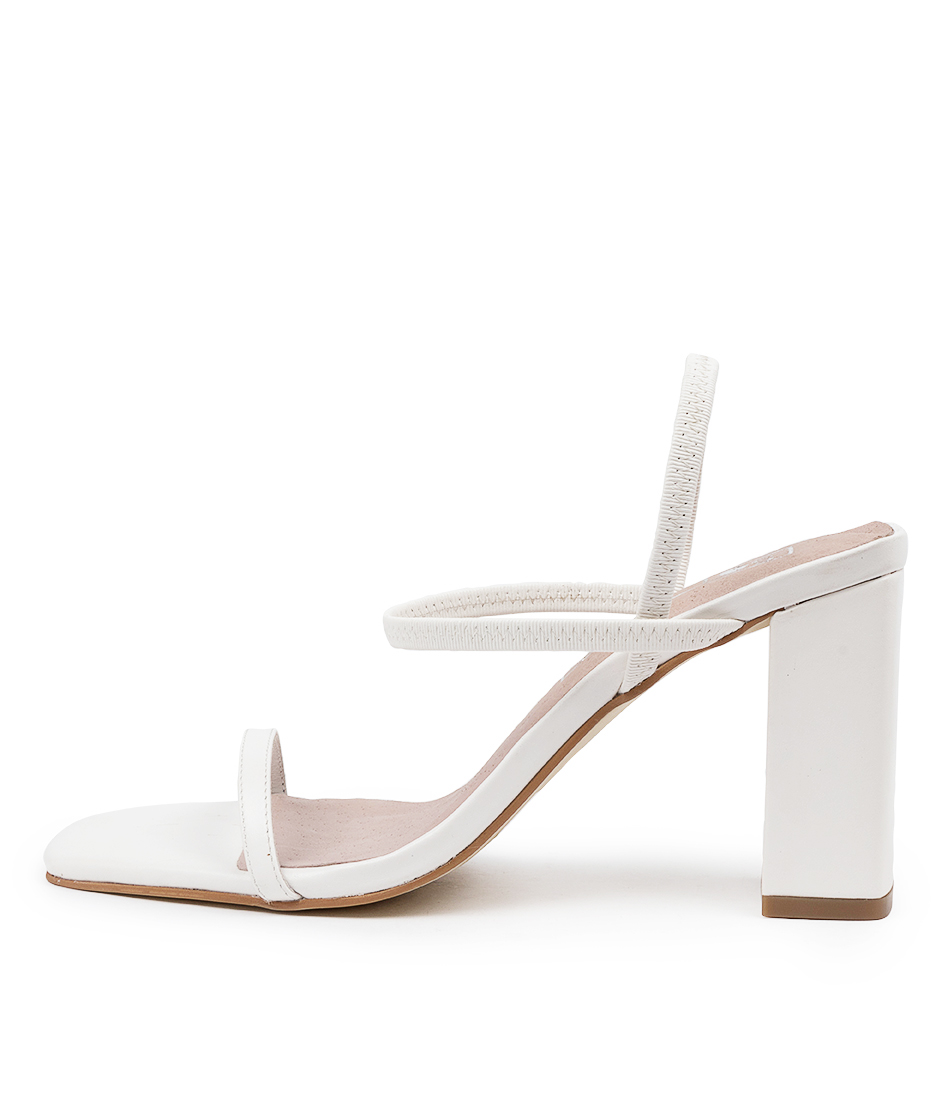 Buy Sol Sana Lily Heel Ss White Heeled Sandals online with free shipping