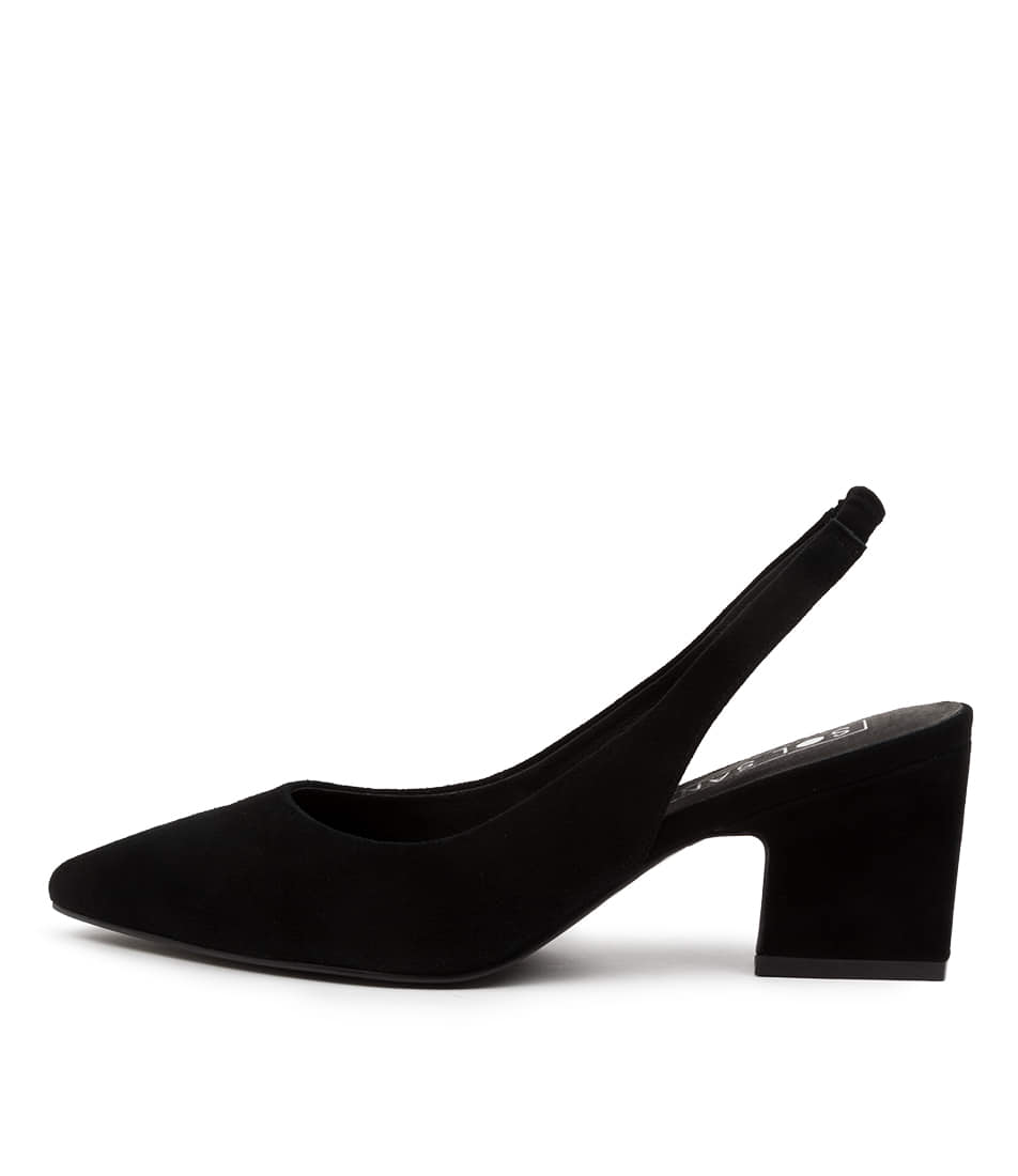 Buy Sol Sana Jac Ii Heel Ss Black High Heels online with free shipping