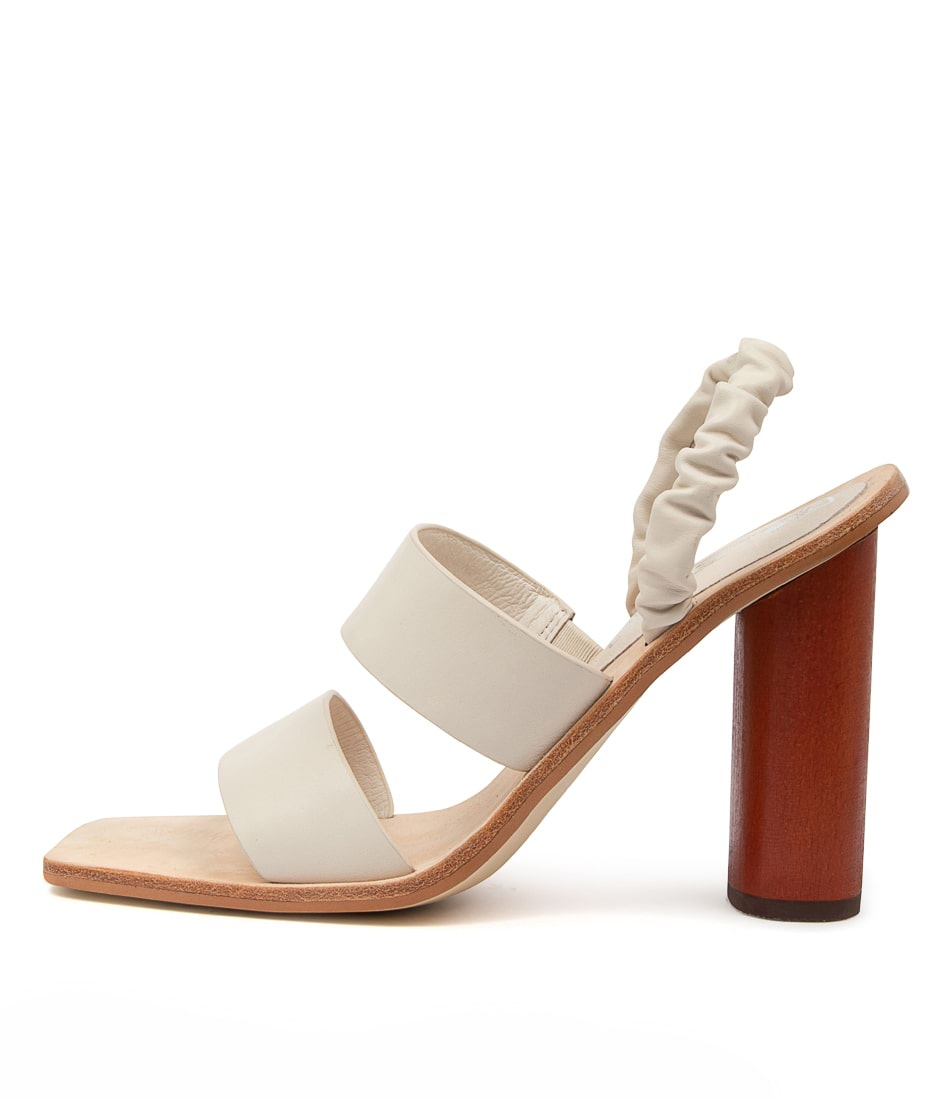 Buy Sol Sana Calina Heel Ss Ivory Heeled Sandals online with free shipping