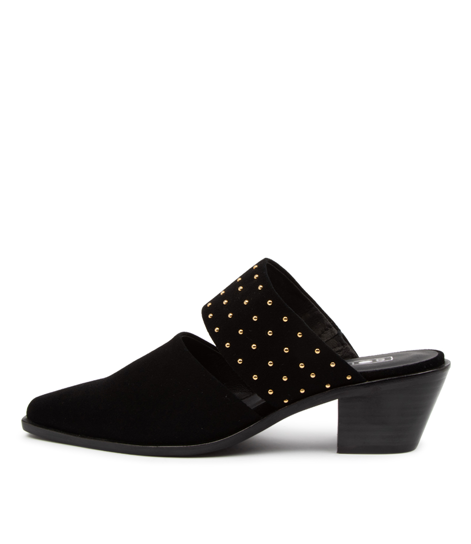Buy Sol Sana Lincon Mule Ss Black High Heels online with free shipping