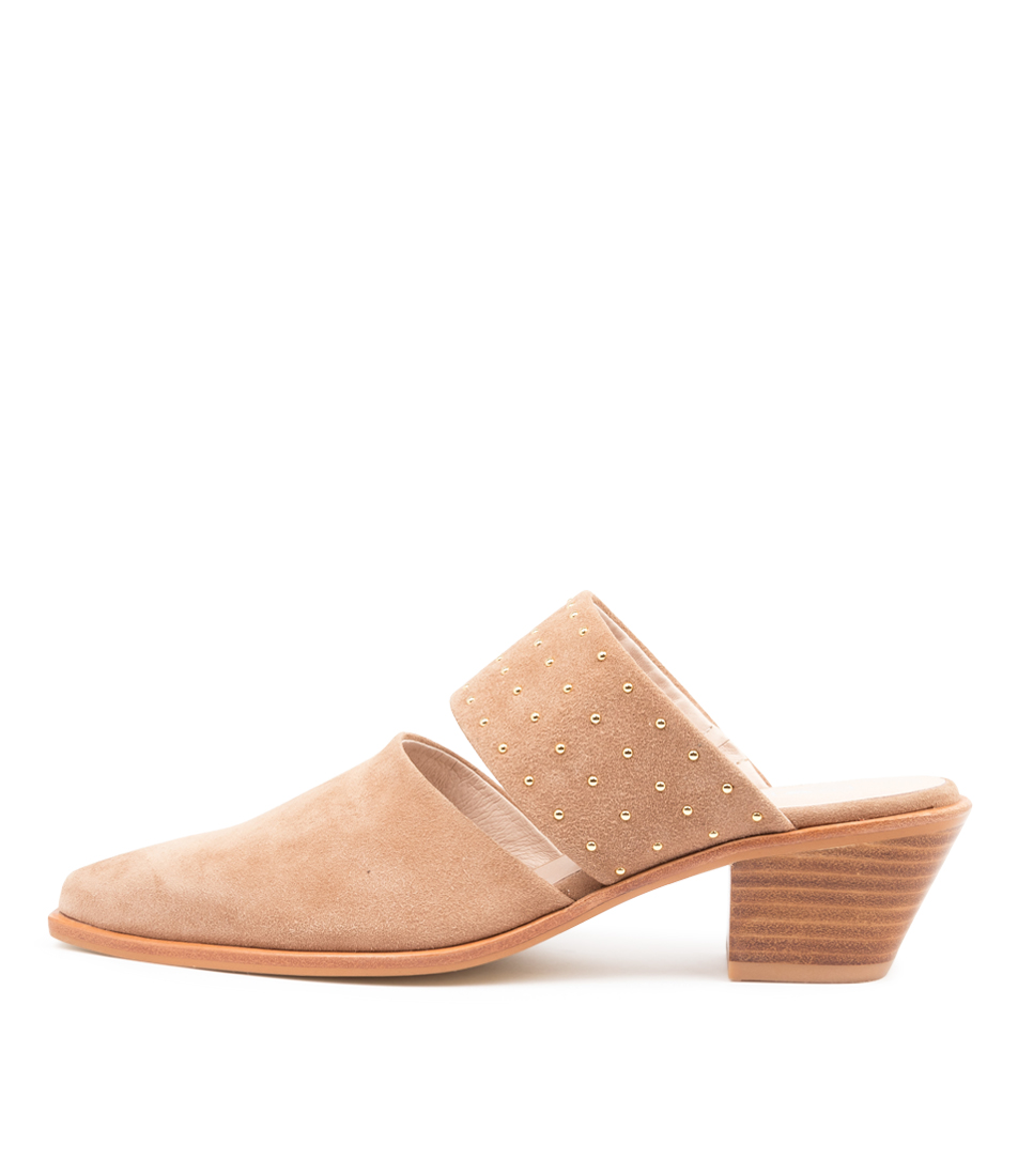 Buy Sol Sana Lincon Mule Ss Stone High Heels online with free shipping