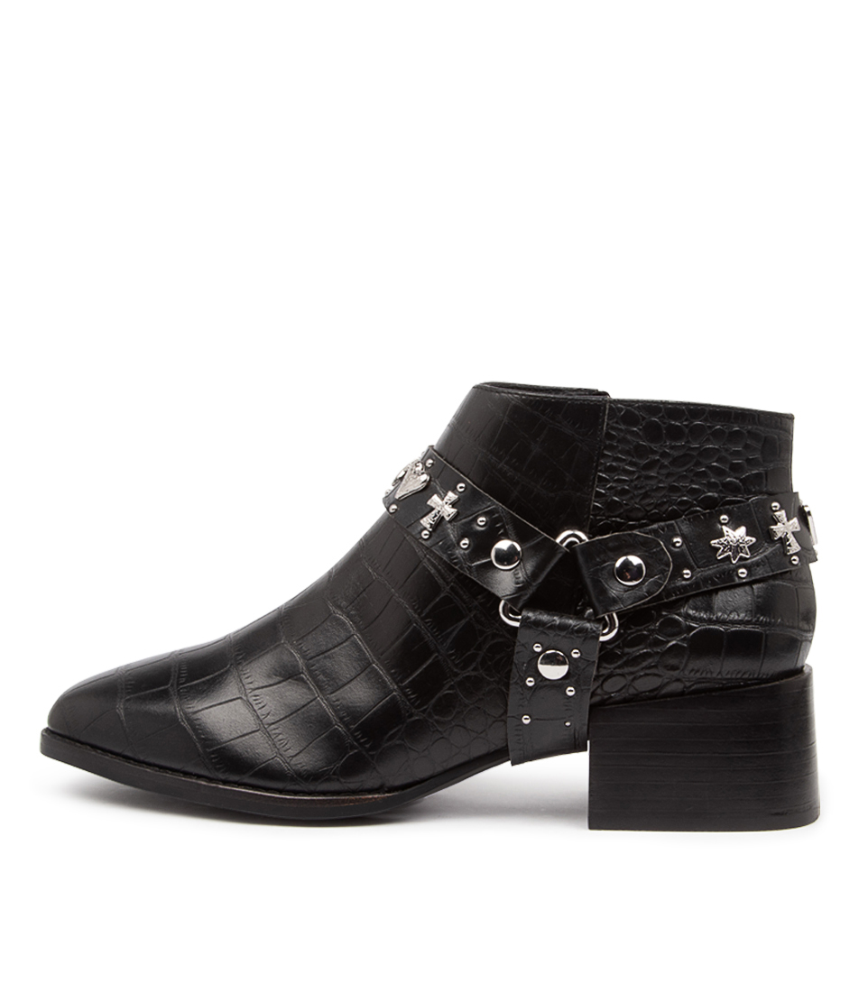 Buy Sol Sana Eddie Boot Ss Black Ankle Boots online with free shipping