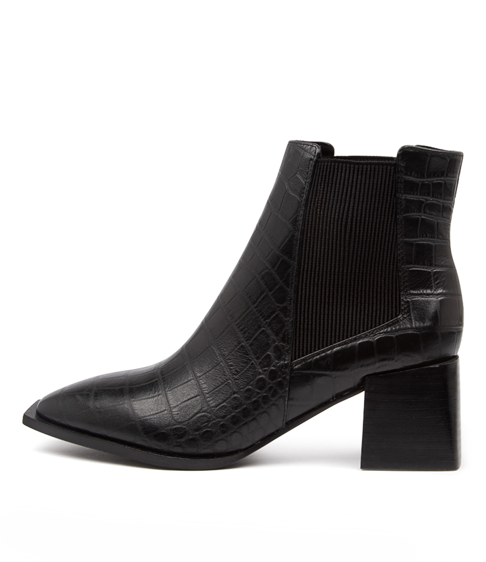 Buy Sol Sana Atticus Boot Ss Black Ankle Boots online with free shipping