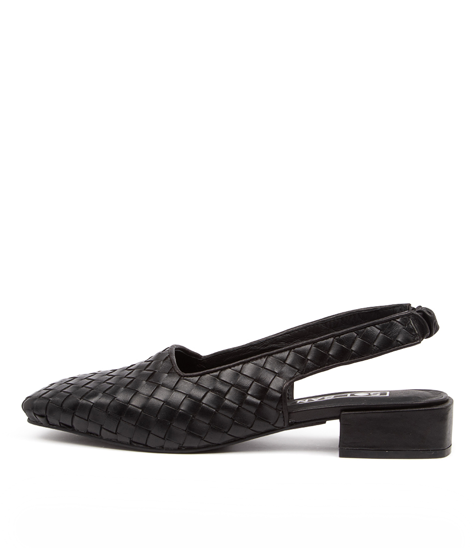 Buy Sol Sana Avalon Flat Woven Ss Black High Heels online with free shipping