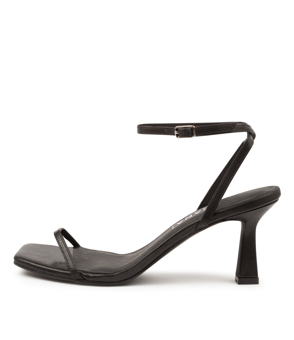 Buy Sol Sana Gwen Heel Ss Black Heeled Sandals online with free shipping
