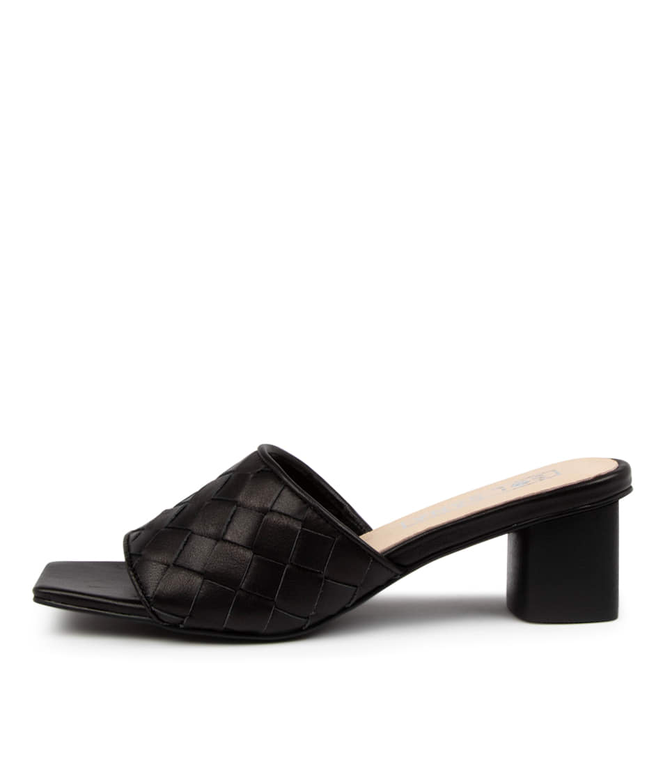 Buy Sol Sana Alaska Mule Ss Black Heeled Sandals online with free shipping