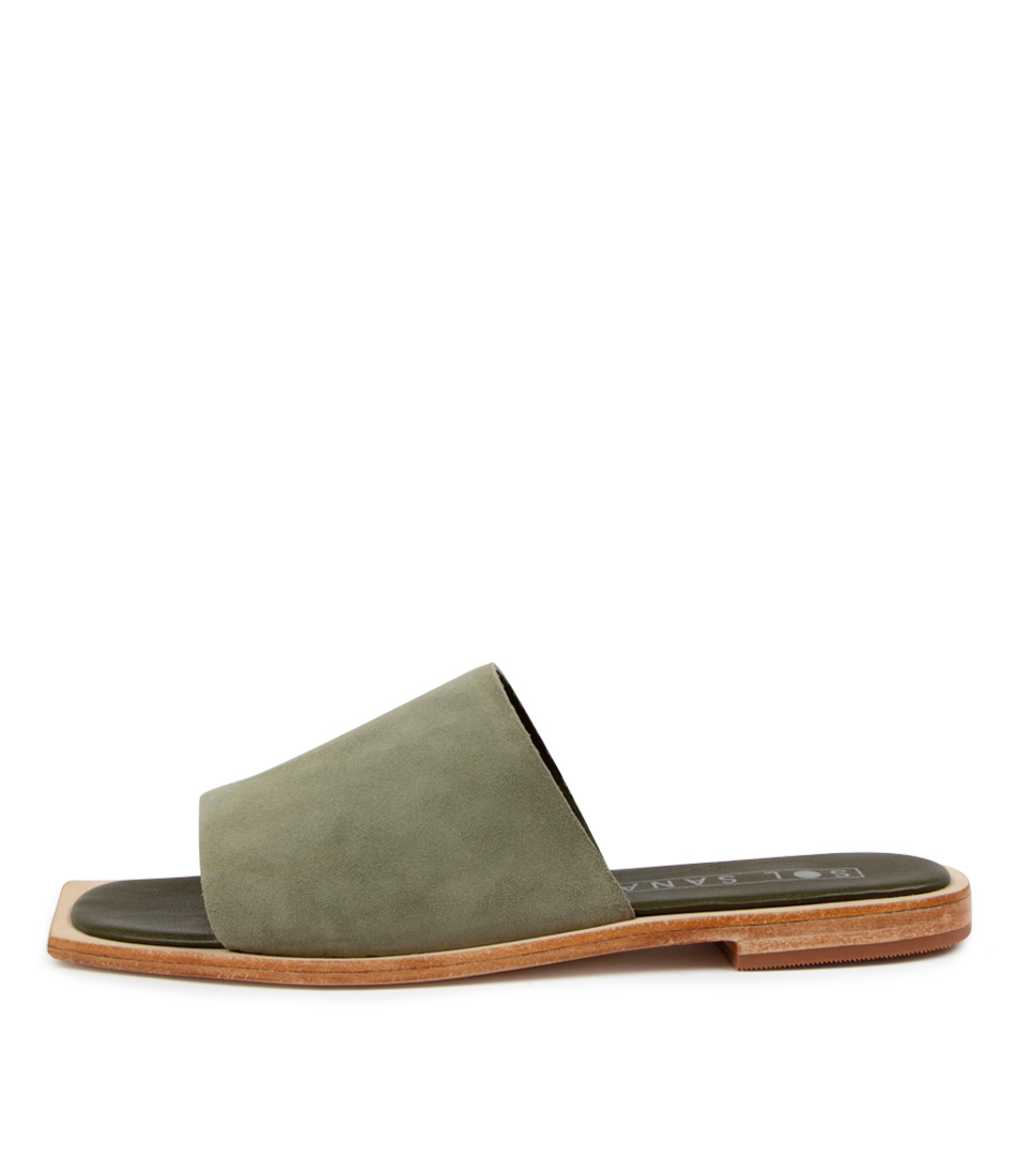 Buy Sol Sana Madonna Slide Ss Moss Flat Sandals online with free shipping