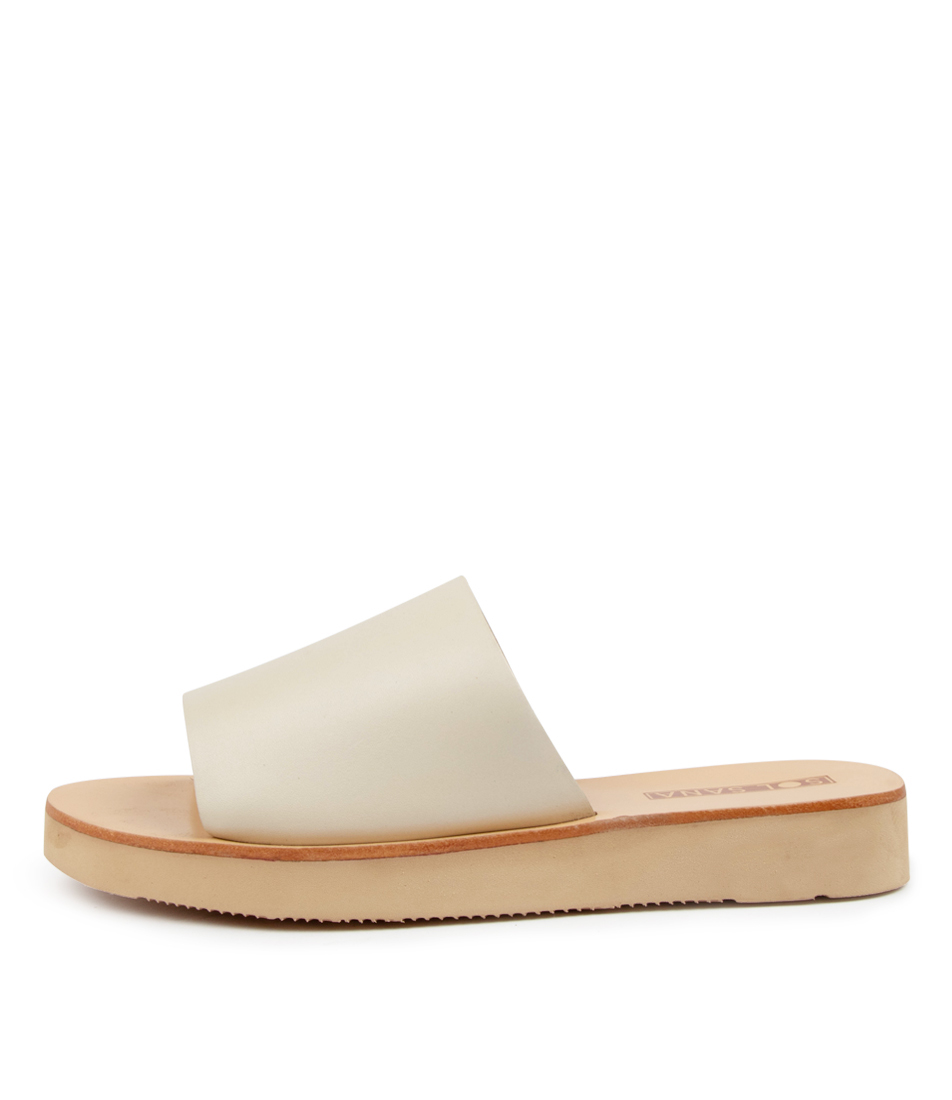 Buy Sol Sana Tara Slide Ss Off White Flat Sandals online with free shipping