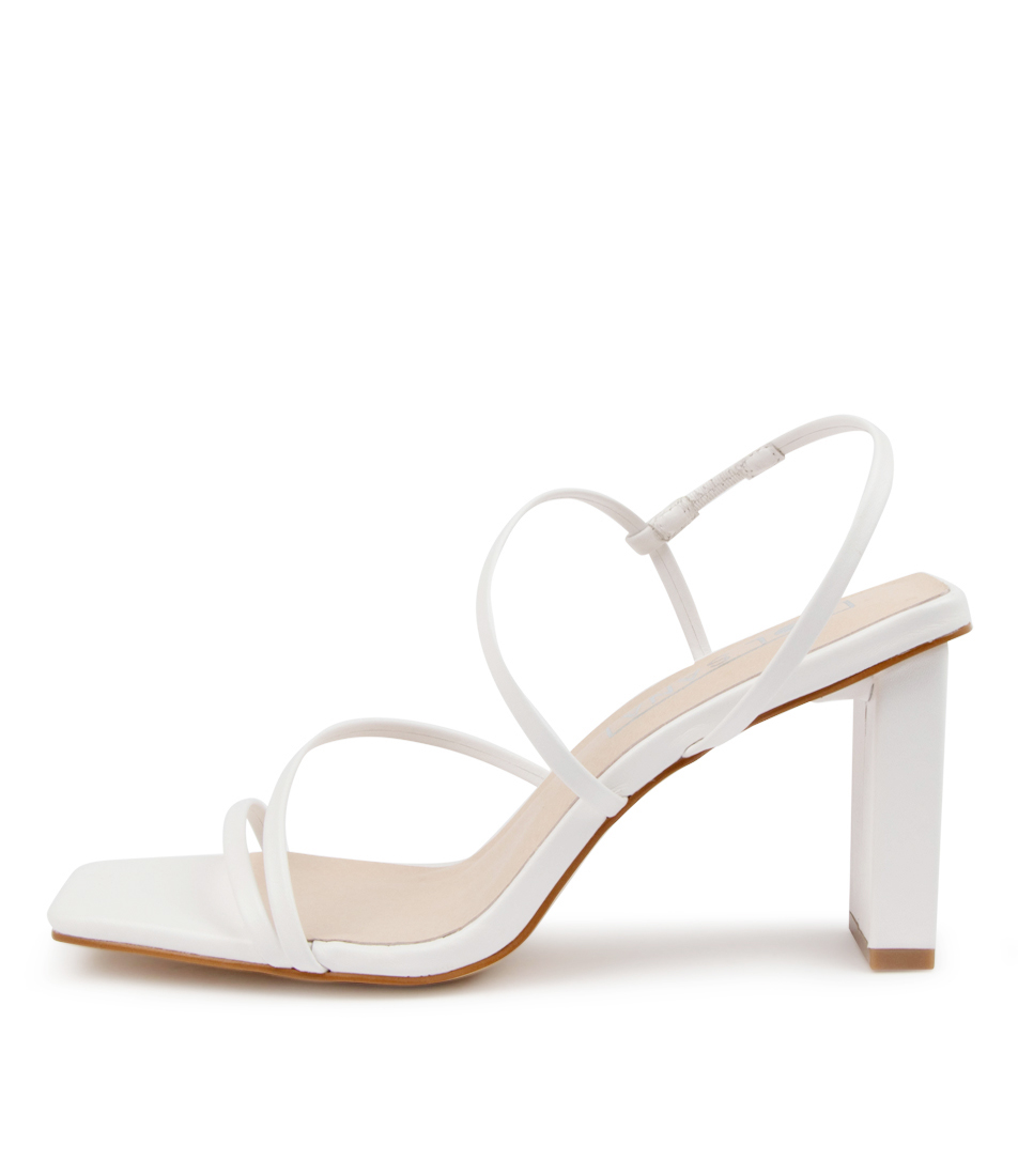 Buy Sol Sana Geanie Heel Ss Off White Heeled Sandals online with free shipping