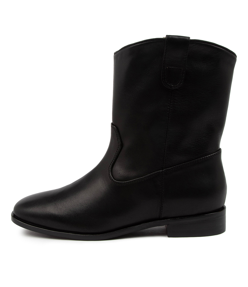 Buy Sol Sana Matteo Boot Ss Black Ankle Boots online with free shipping