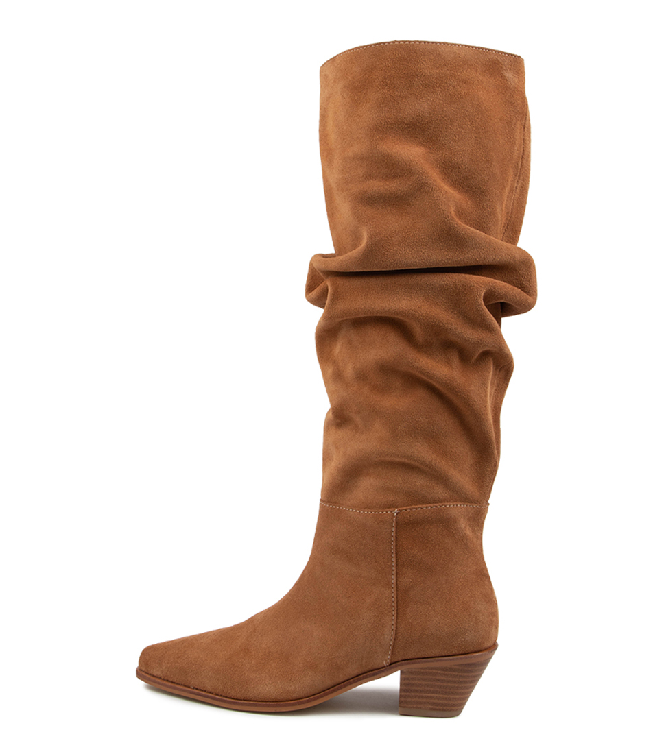 Buy Sol Sana Tyler Boot Ss Toffee Long Boots online with free shipping