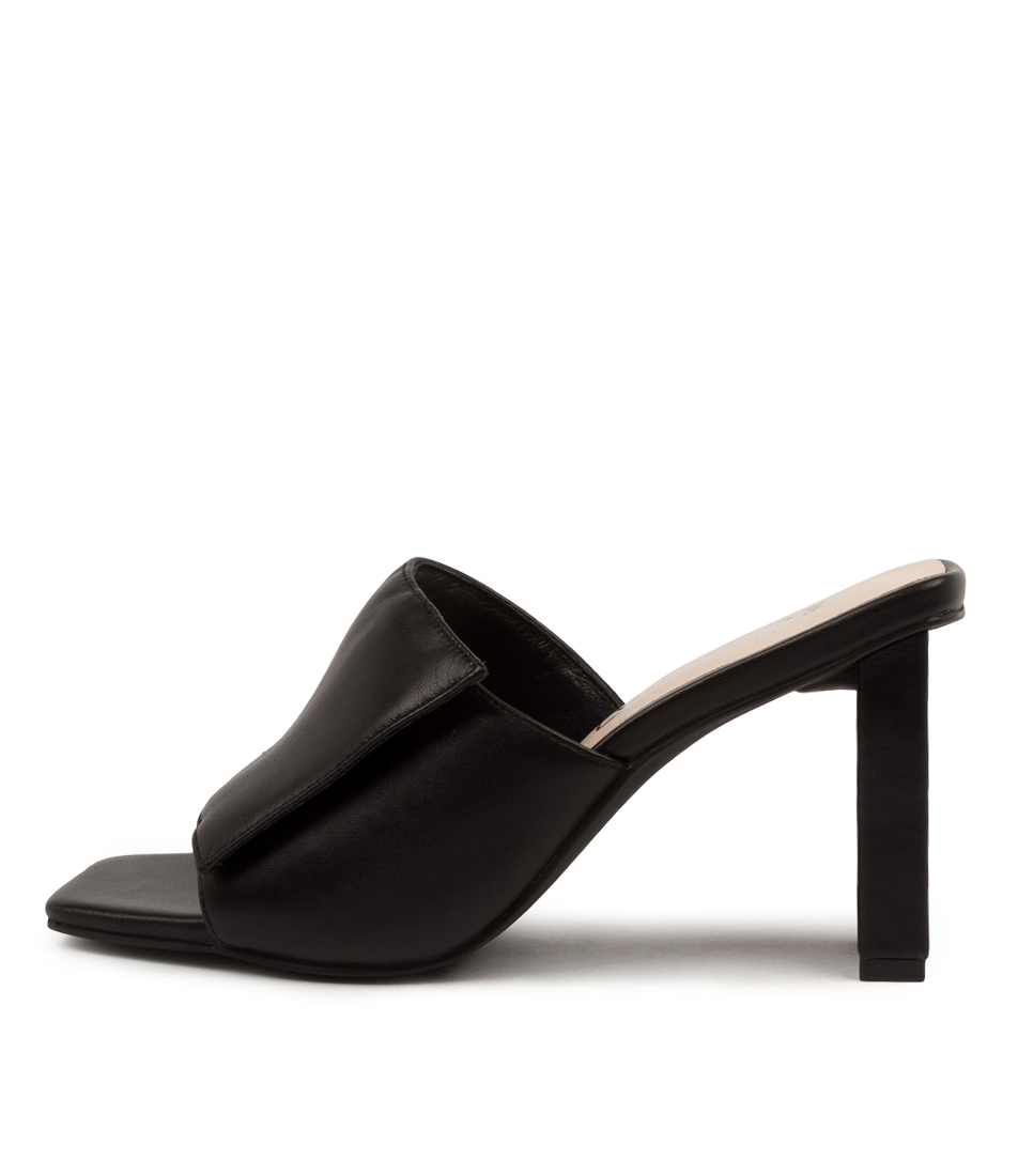 Buy Sol Sana Holden Mule Ss Black Heeled Sandals online with free shipping