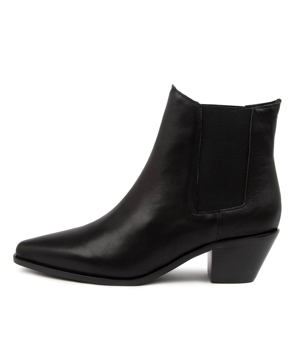 Buy Sol Sana Roger Boot Ss Black Ankle Boots online with free shipping