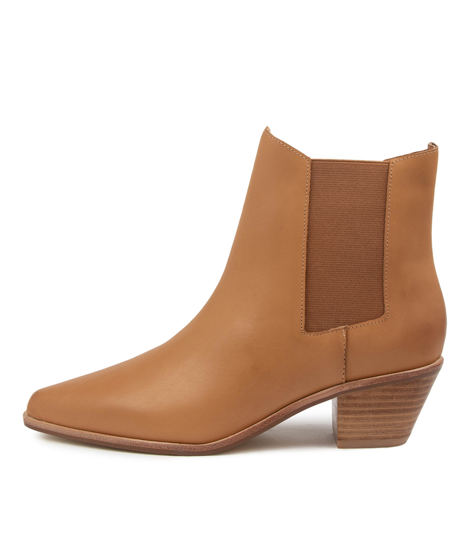 Buy Sol Sana Roger Boot Ss Tan Ankle Boots online with free shipping