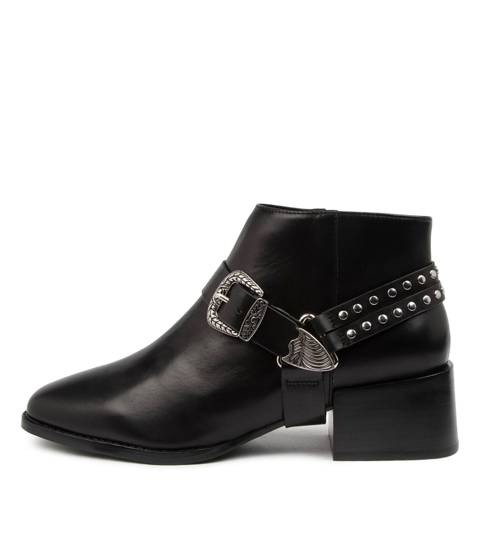 Buy Sol Sana Cole Boot Ss Black Ankle Boots online with free shipping