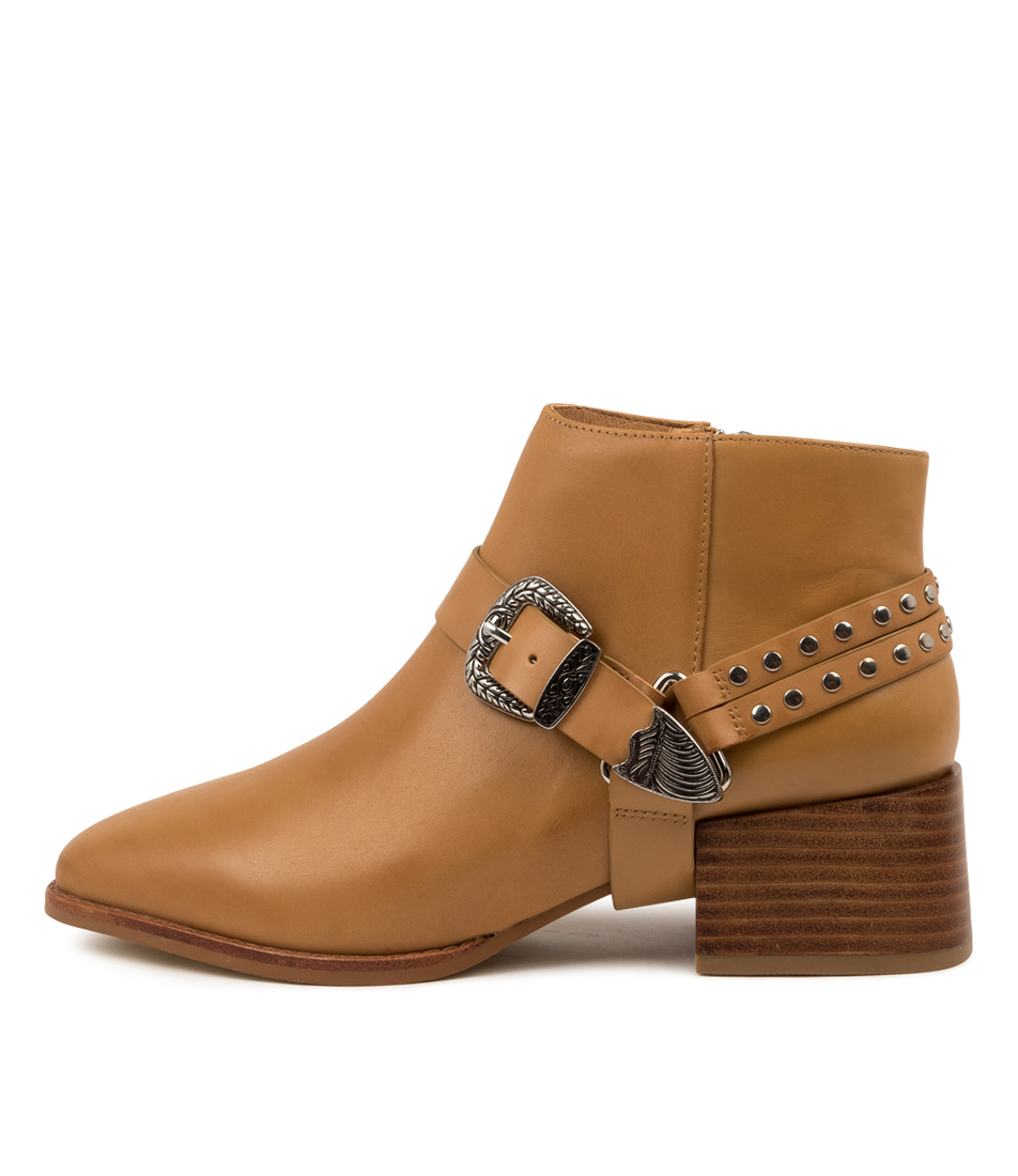 Buy Sol Sana Cole Boot Ss Tan Ankle Boots online with free shipping