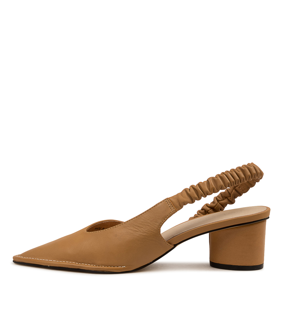 Buy Sol Sana Colton Heel Ss Tan HIgh Heels online with free shipping