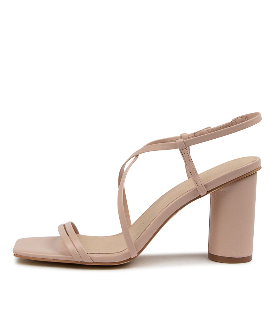 Buy Sol Sana Nova Heel Ss Pink Clay Heeled Sandals online with free shipping