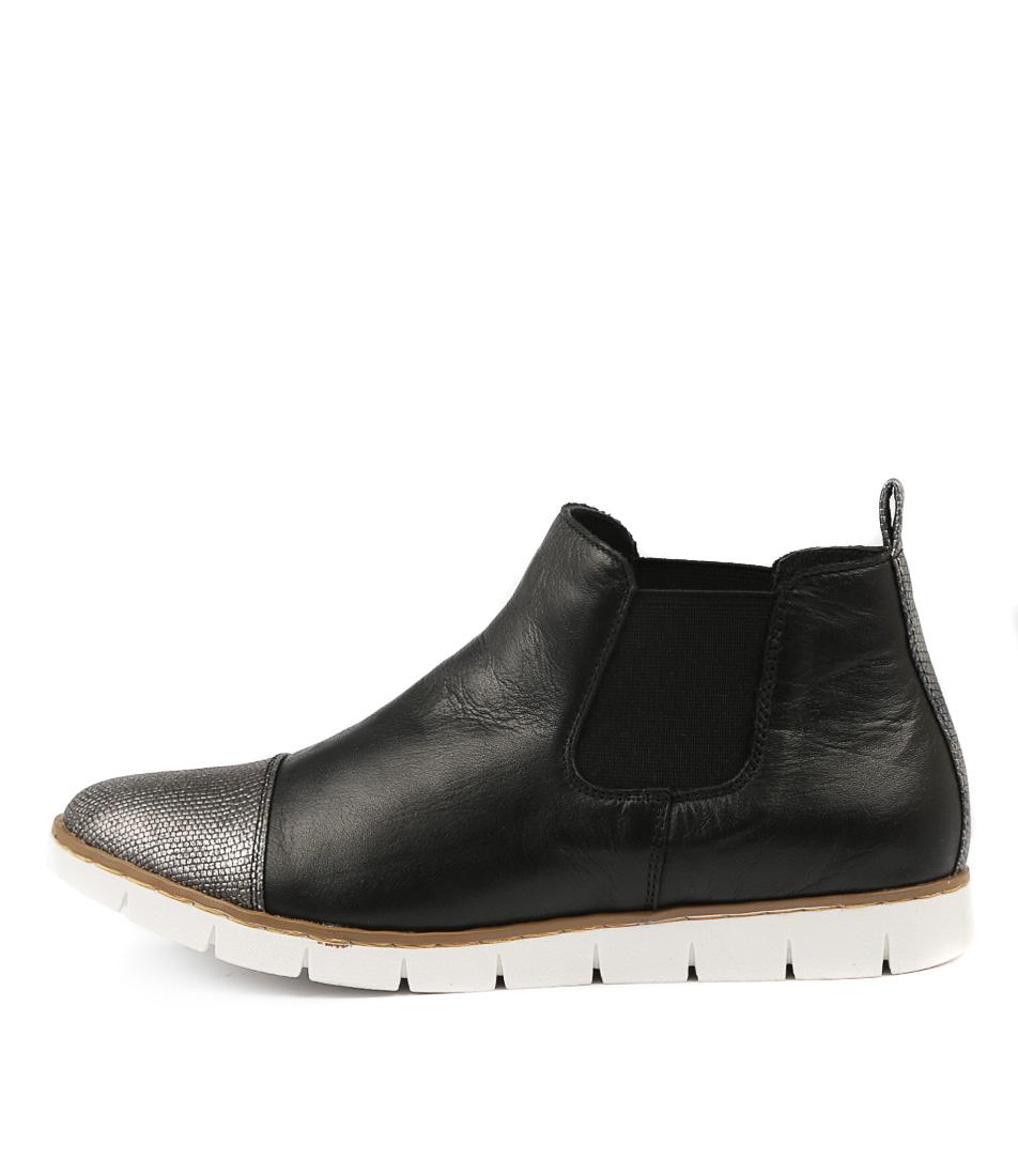 Stegmann Marsden W Black Pewter Ankle Boots