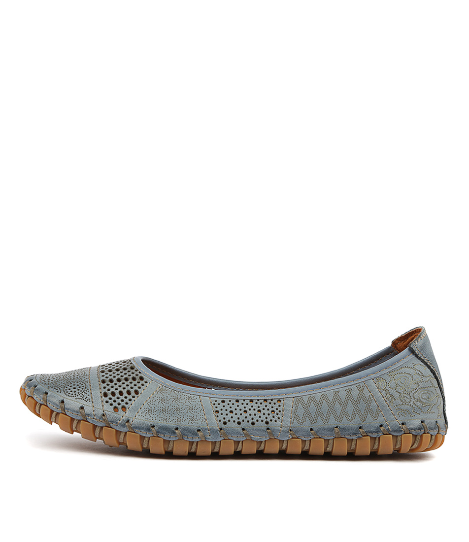 Buy Stegmann Kollap Jeans Flats online with free shipping