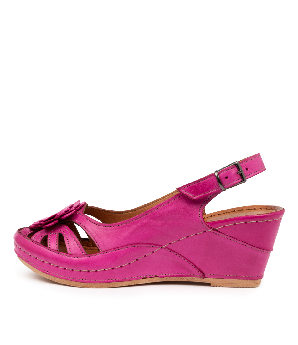 Buy Stegmann Liza St Fuchsia High Heels online with free shipping