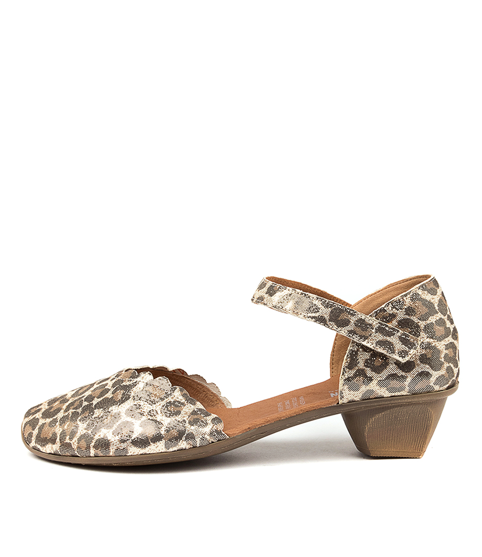 Buy Stegmann Sharryn Champagne Leopard High Heels online with free shipping