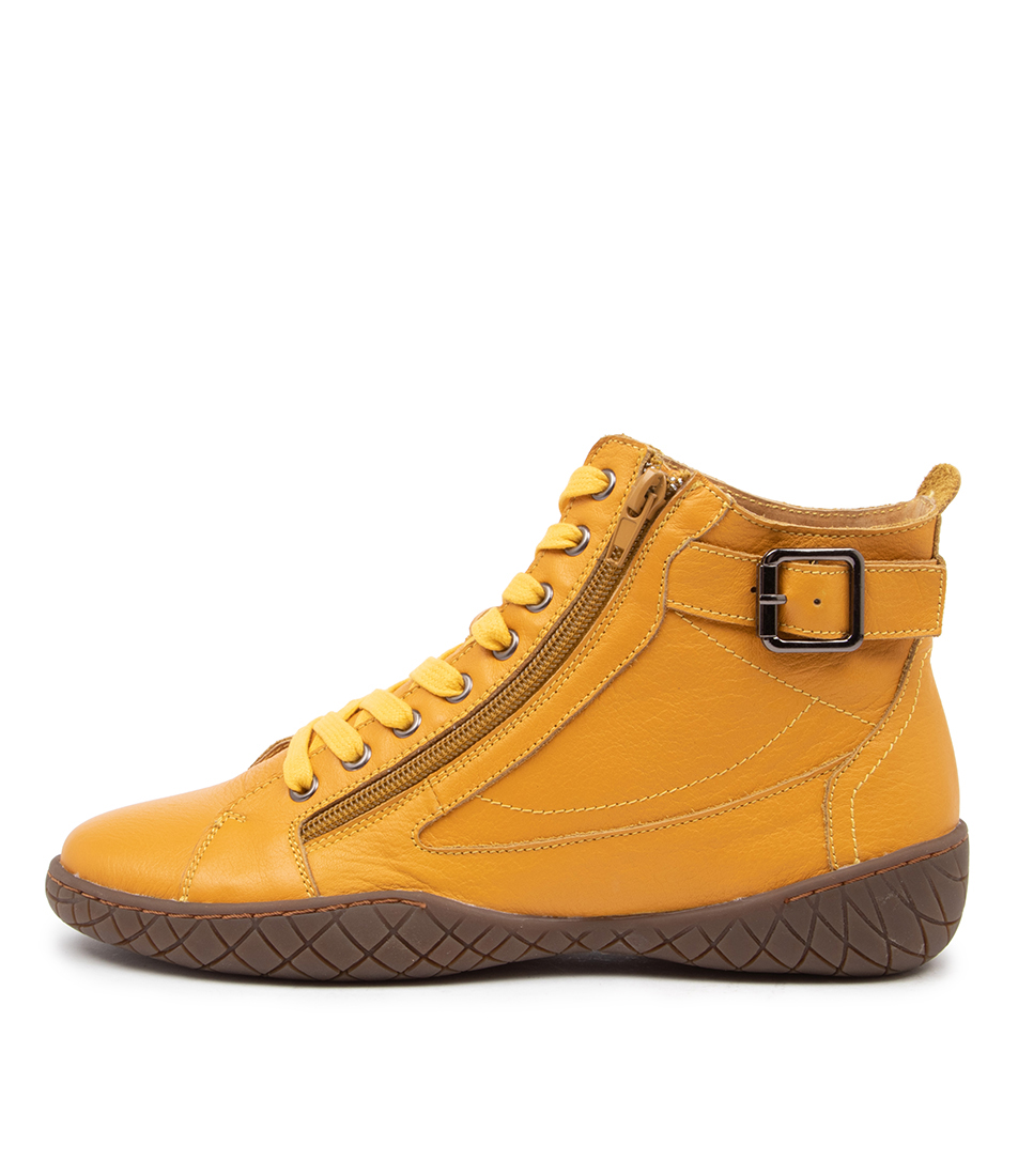 Buy Stegmann Karina St Yellow Ankle Boots online with free shipping