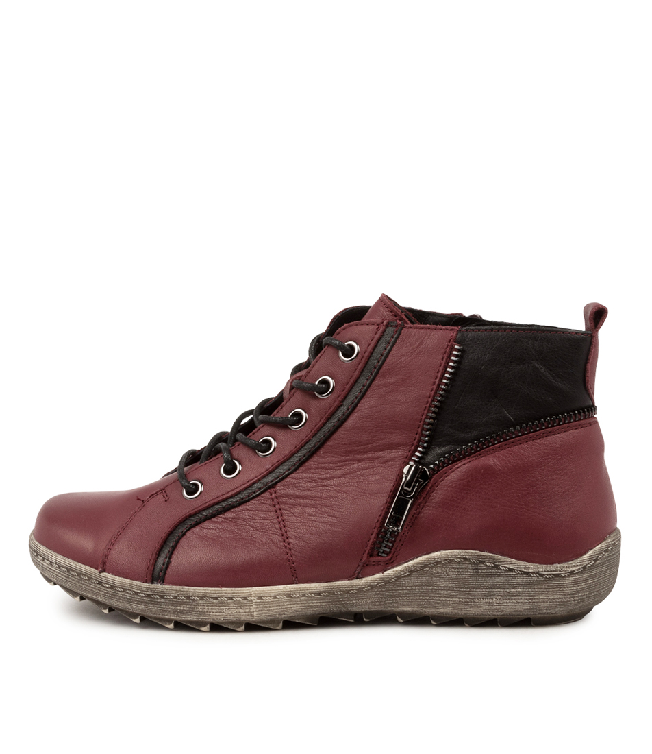 Buy Stegmann Horsham St Burgundy Ankle Boots online with free shipping