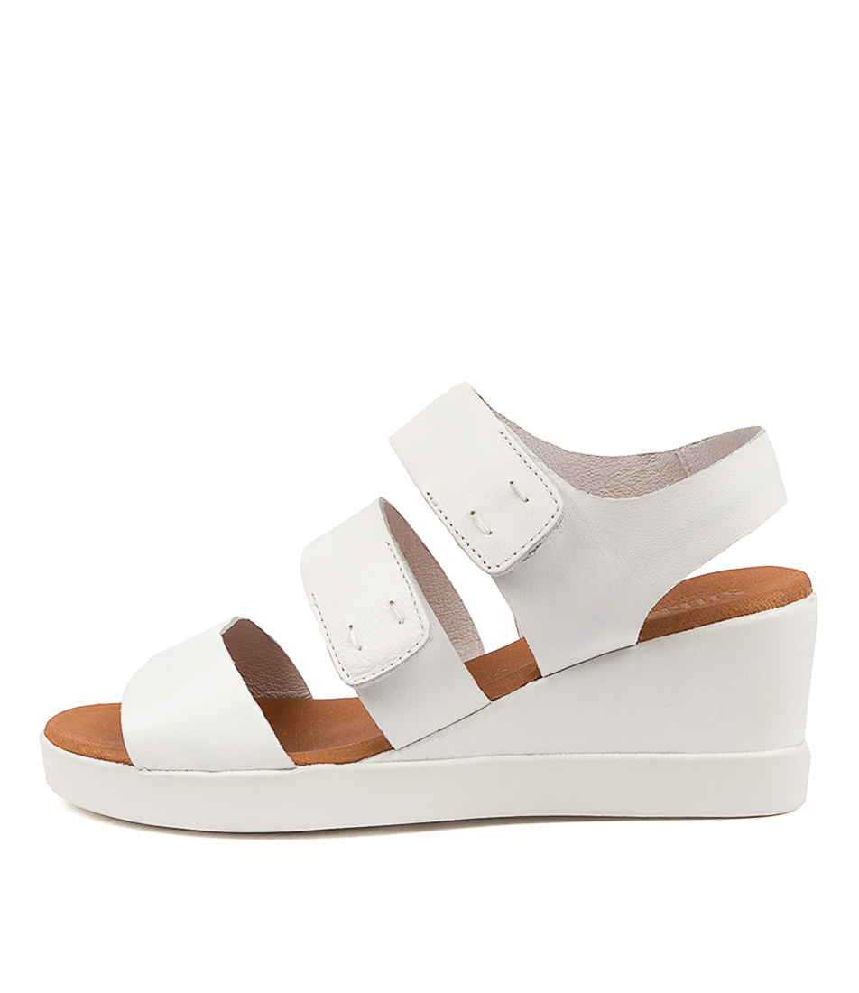 Buy Stegmann Everything St White Heeled Sandals online with free shipping