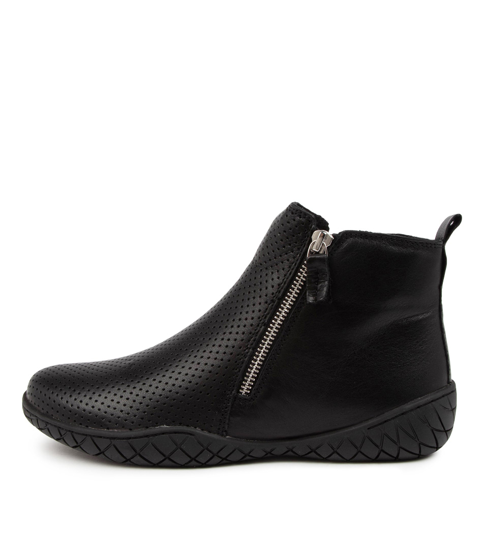 Buy Stegmann Katharina St Black Sole Ankle Boots online with free shipping