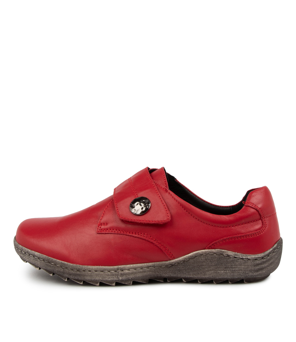 Buy Stegmann Hopper St Red Flats online with free shipping