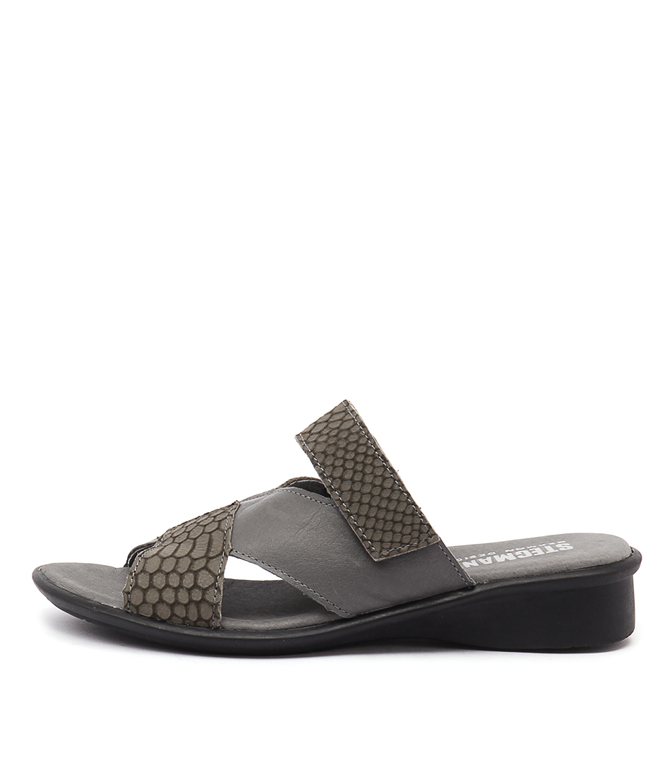 Stegmann Nate St Grey Sandals