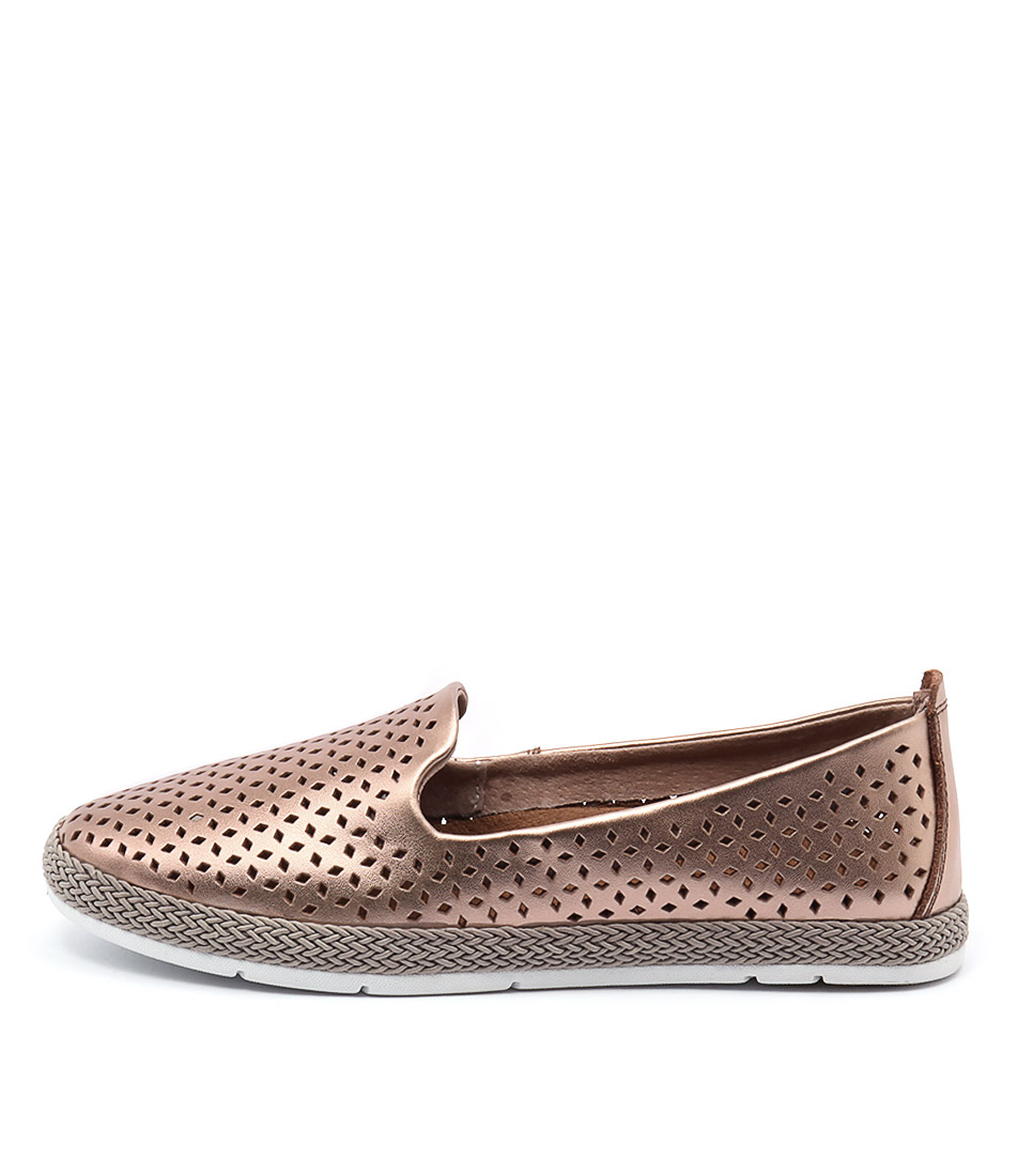 Stegmann Peppa Rose Gold Flat Shoes