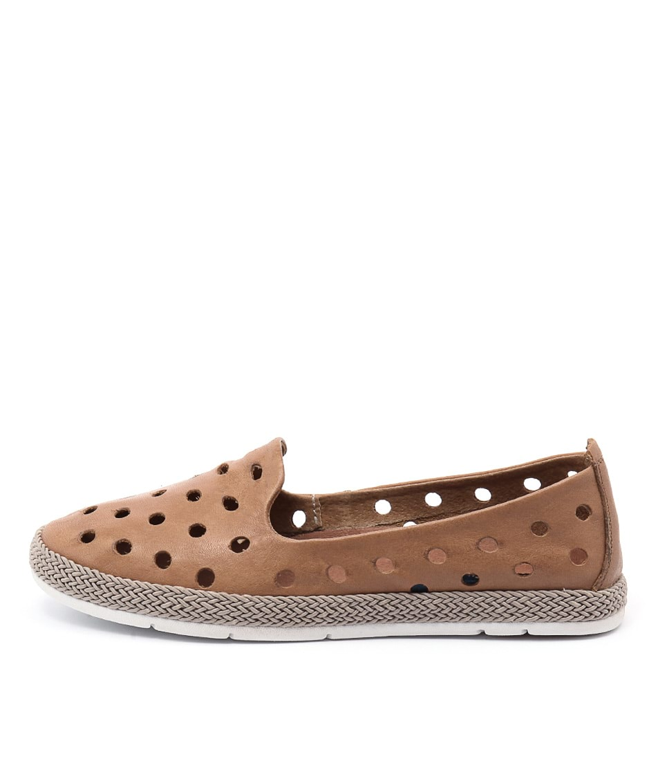 Stegmann Patient Camel Flat Shoes