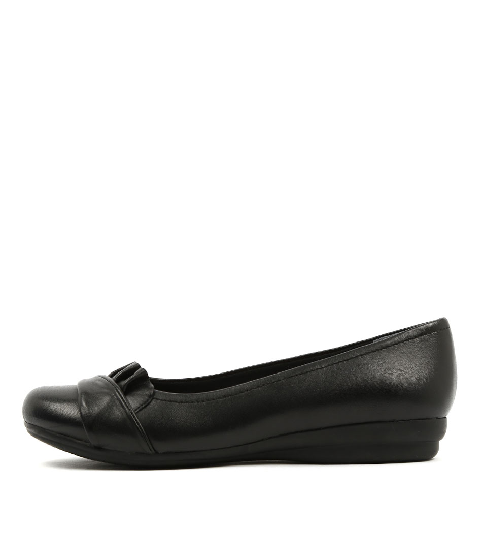 Buy Supersoft Jayde Black Flats online with free shipping