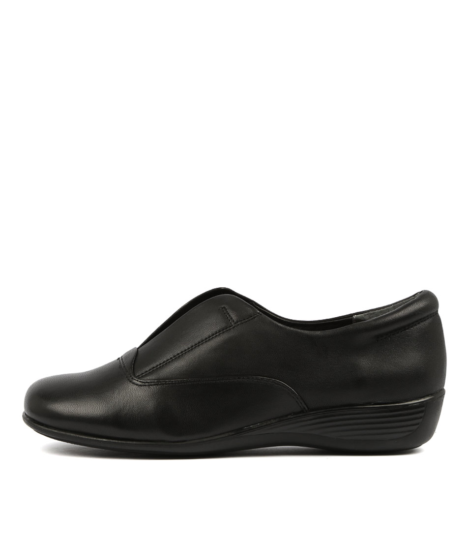 Buy Supersoft Pia Black Flats online with free shipping