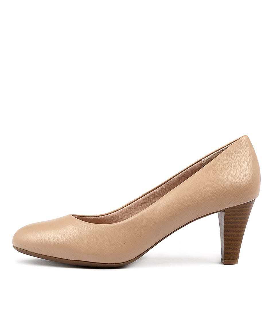 Supersoft Corey Nude Heeled Shoes