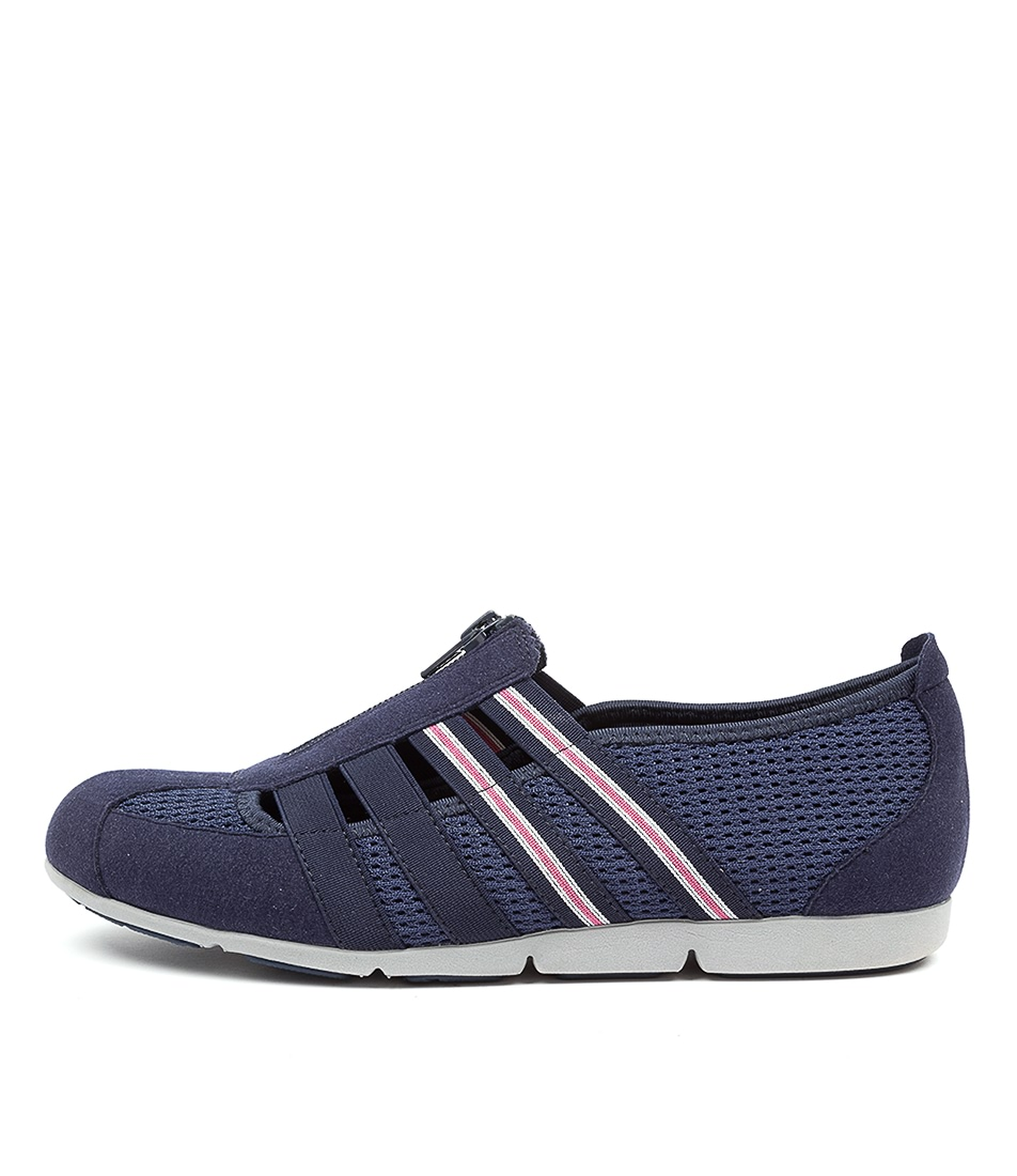 Buy Supersoft Scottie Navy Pink Sneakers online with free shipping