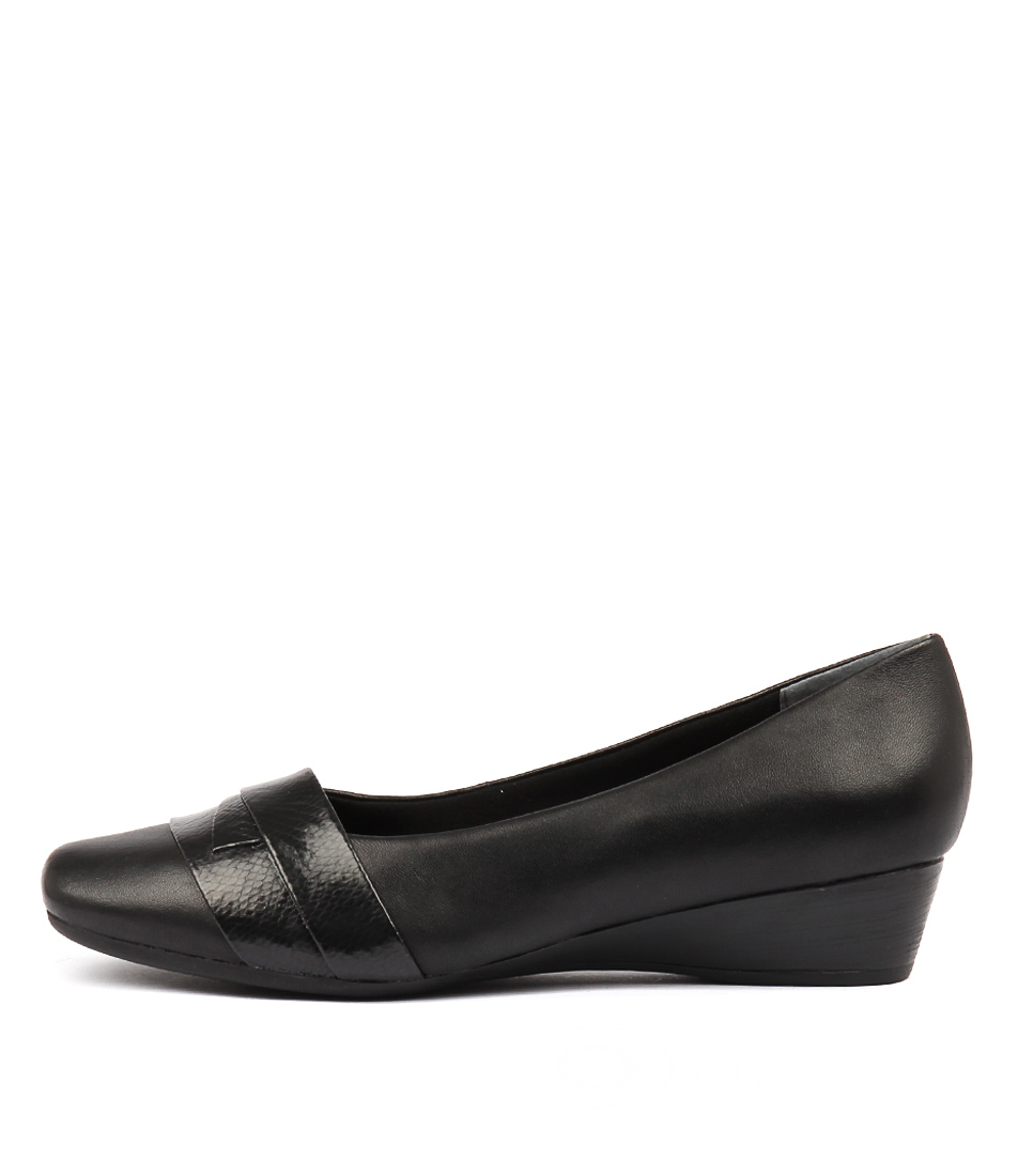 Buy Supersoft Renzo Black Flats online with free shipping