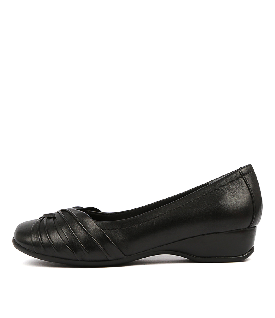 Buy Supersoft Tallise Black Flats online with free shipping