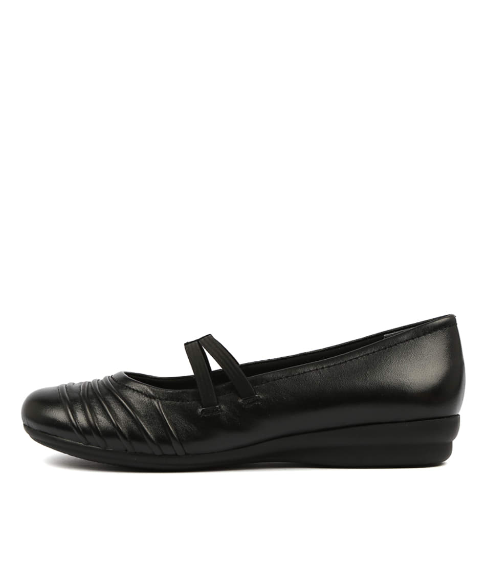 Buy Supersoft Janda Black Flats online with free shipping