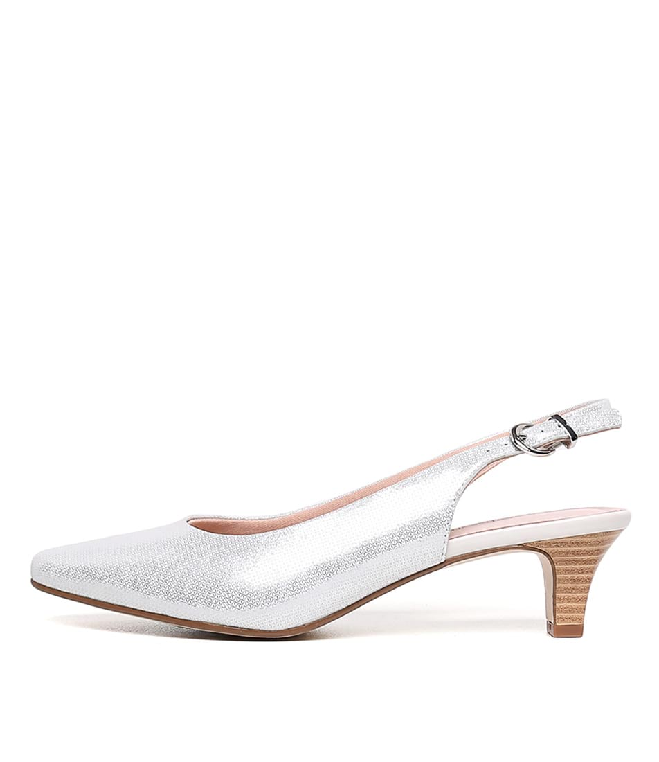 Buy Supersoft Linden2 Ivory Metallic High Heels online with free shipping
