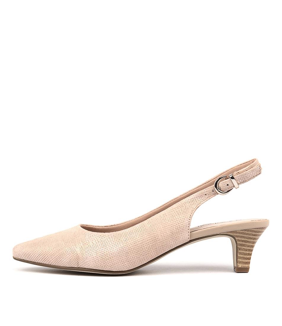 Supersoft Linden2 Blush Heeled Shoes