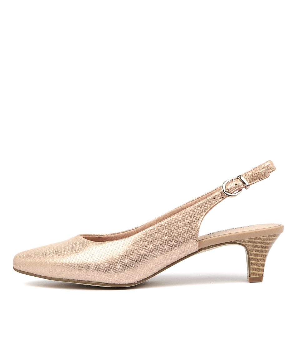Buy Supersoft Linden2 Blush Metallic High Heels online with free shipping