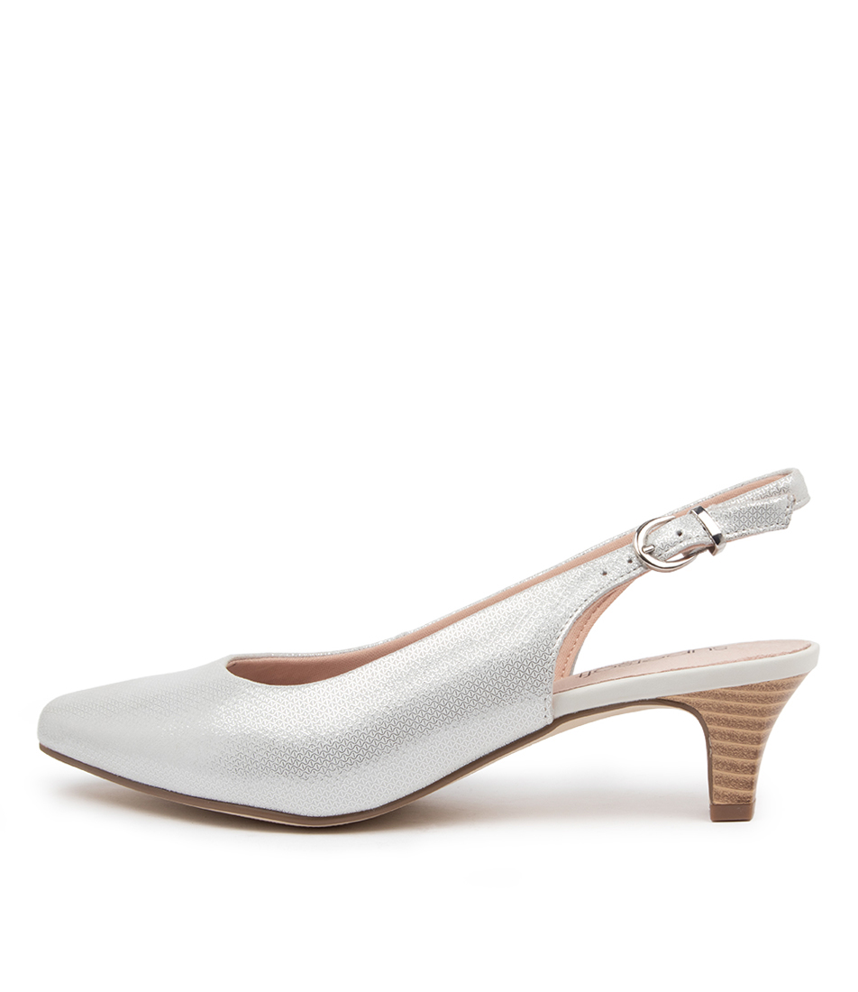 Buy Supersoft Linden2 Ivory Diamond High Heels online with free shipping