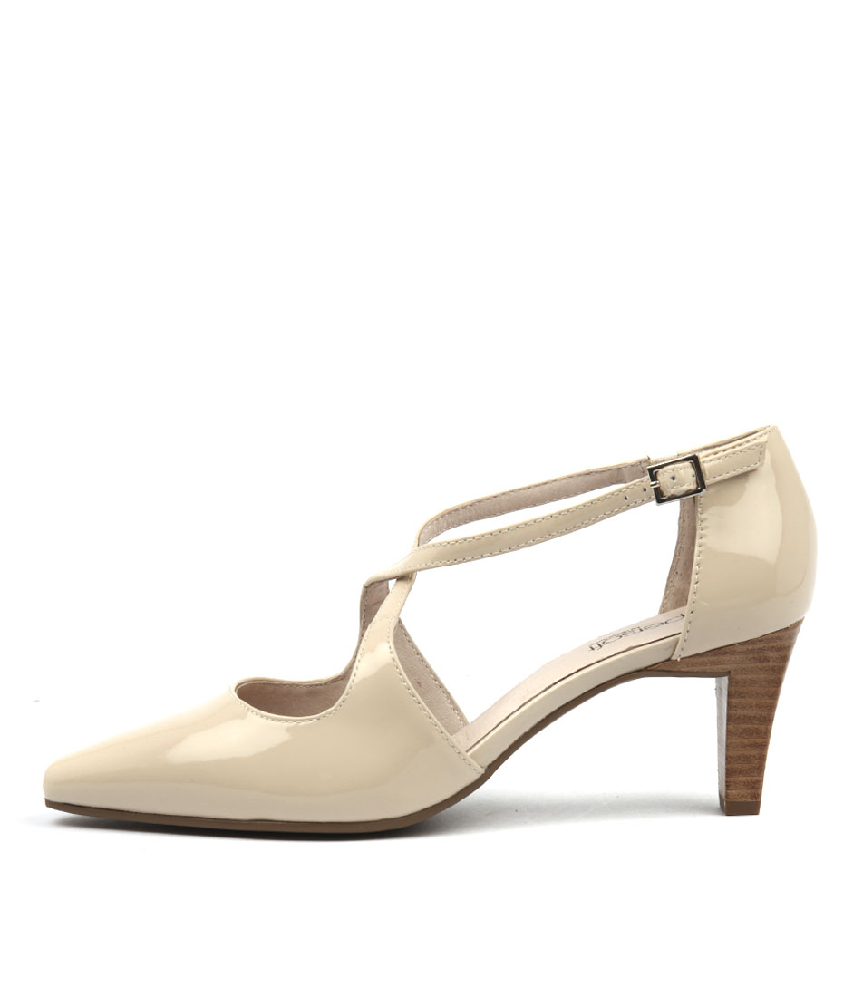 Supersoft Marnee Pale Blush Heeled Shoes